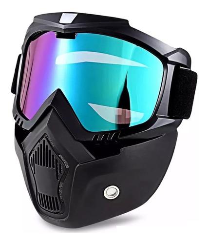 mascara googles motocicleta gotcha biker tactica