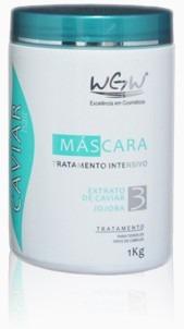 máscara hidratação profunda para cabelos de caviar wgw 1 kg