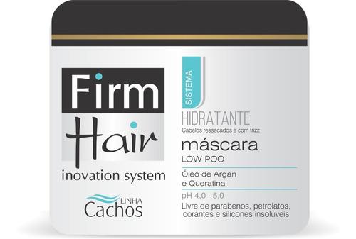 máscara hidratante low poo firm hair 500 g linha cachos