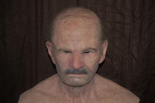 máscara humana ultra realista