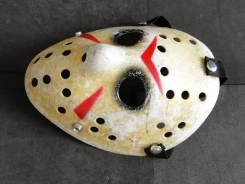 mascara importada jason sexta feira 13 material pvc