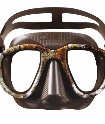 máscara importada omer alien 3d camu mergulho pesca sub
