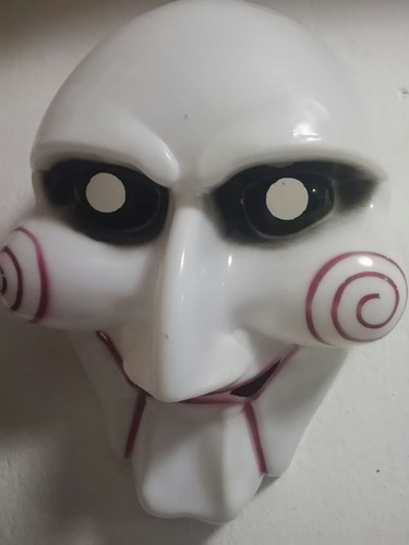 mascara juegos del miedo saw vendetta terror fiestas joda