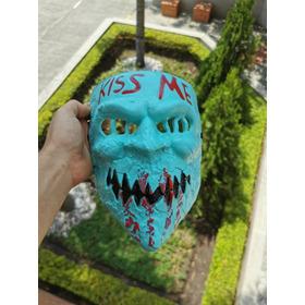 Máscara Kiss Me Halloween Miedo Terror Niños Adultos