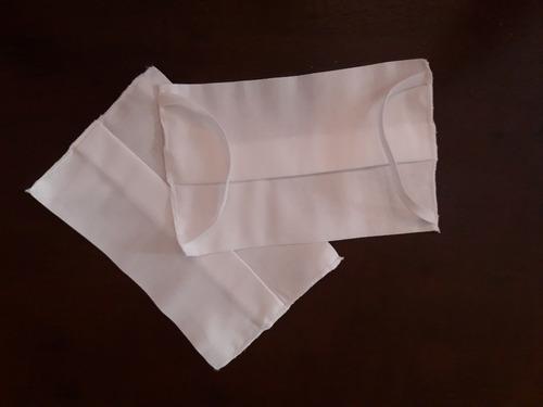 máscara kit 2 peças, tecido 100% algodão exxe wear