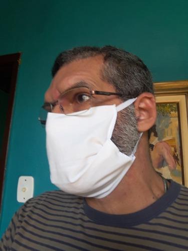 máscara kit com 4 peças, tecido 100% algodão exxe wear