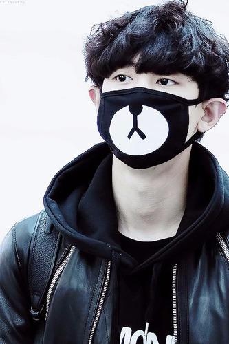 máscara kpop urso rilakkuma frete gratuito