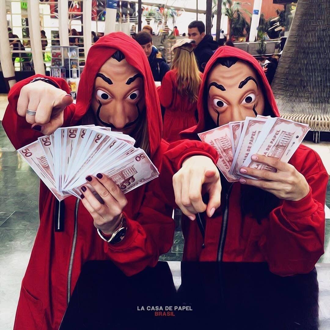 Mascara la casa de papel atracador serie entrega imediata for Fondo de pantalla la casa de papel