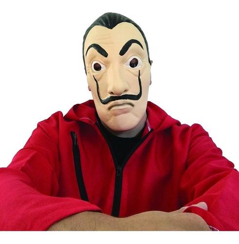 máscara la casa de papel dalí netflix halloween disfraz
