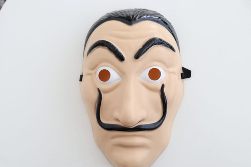 mascara la casa de papel salvador dali