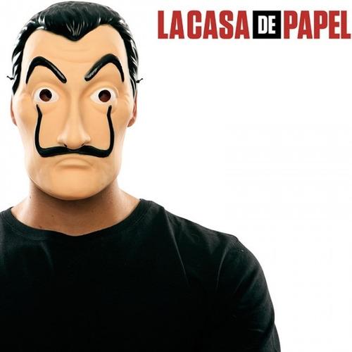 máscara la casa de papel salvador dalí serie netflix calidad