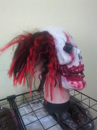 máscara látex fantasia terror palhaço assustador sangrento p