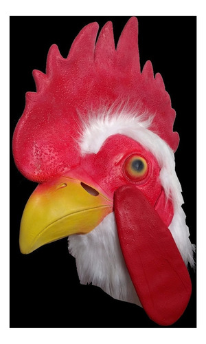 mascara latex gallo gallina moron river pollo disfraz adulto