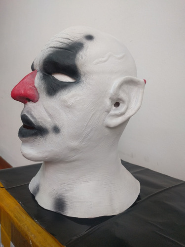 mascara latex halloween payaso asesino clown loco pelado it