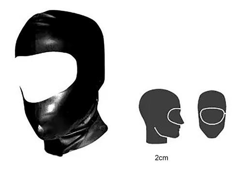 mascara latex mascara 1/2 rostro bdsm sex shop