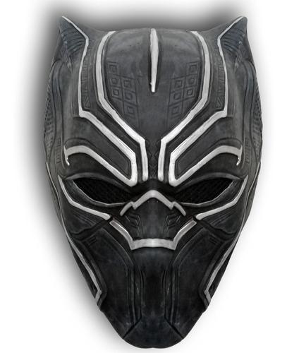 mascara latex pantera negra black panther t'challa avenger