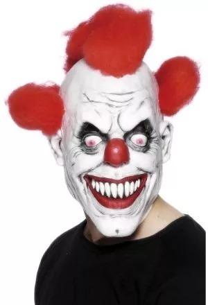Mascara Latex Payaso Asesino Con Pelo Envios -   1.499 4c78890e15f4