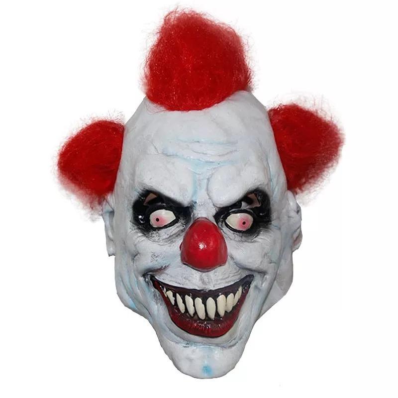 mascara latex payaso asesino con pelo envios. Cargando zoom. 168ce37e9479
