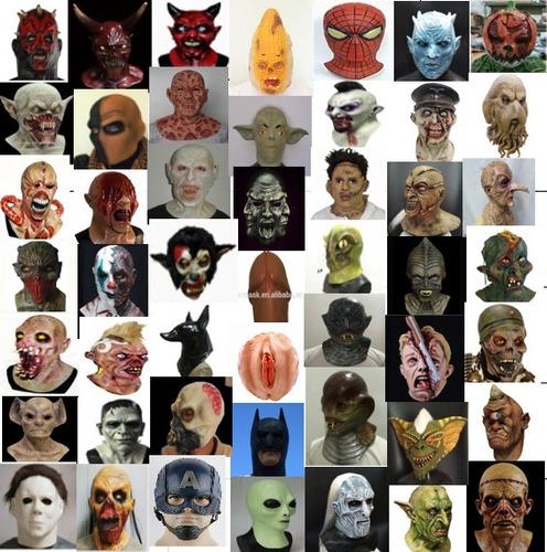 mascara latex rana sapo animales selva disfraces halloween