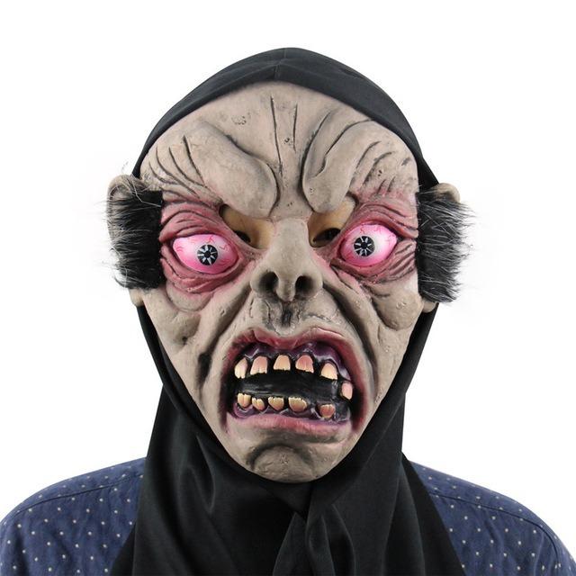 Máscara Látex Terror Monstro Halloween Zumbi Rave Fantasia R 50