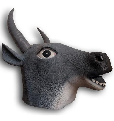 mascara latex toro vaca vaquita animales disfraz halloween