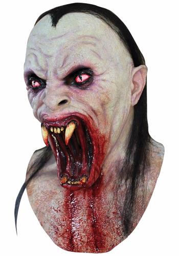 mascara latex viper vampiro nosferatum halloween disfraz