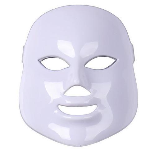 máscara led 7 colores + 1 antifaz 3d + envío hoy gratis!