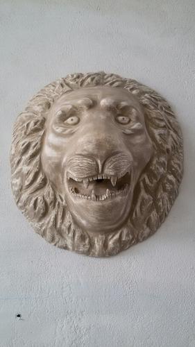 máscara leão grande de parede unidade