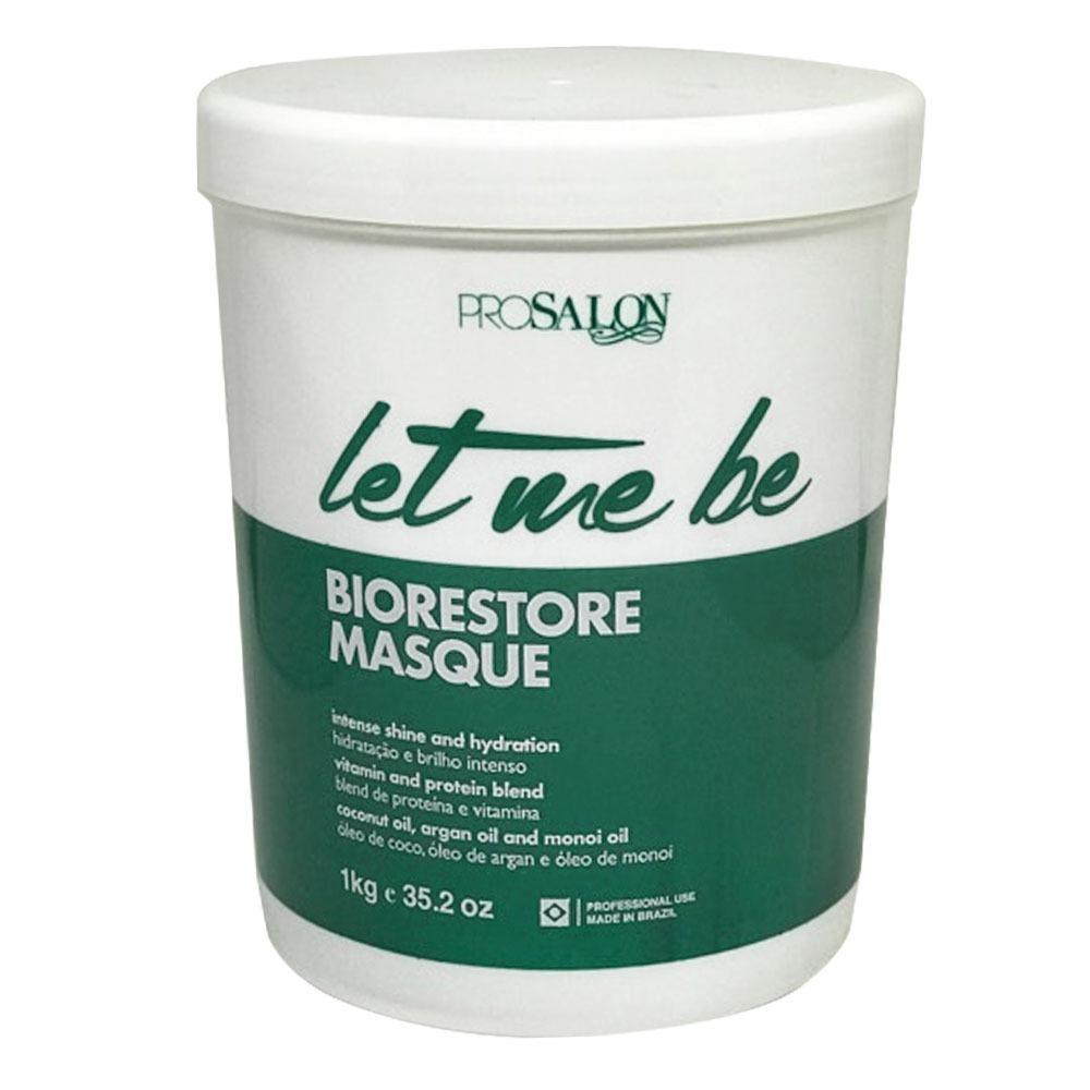 80e9f2a84 máscara let me be 1kg ultra hidratante prosalon biorestore. Carregando zoom.