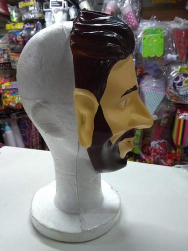 mascara lionel messi plastica economica lio mundial