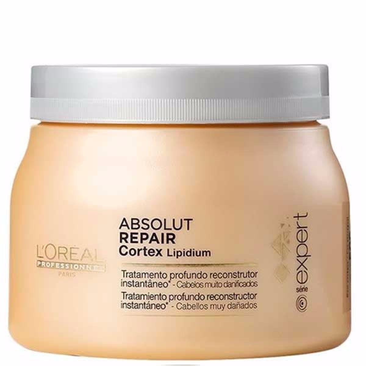 c9dc4d7b2 Máscara Loréal Absolut Repair Cortex Lipidium 500g Promoção - R$ 184 ...