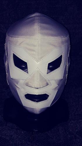 mascara luchador dr wagner blanca profesional lucha libre