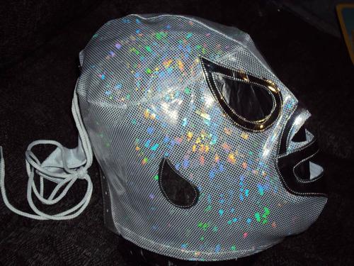 mascara luchador el santo para adulto semiprofesional