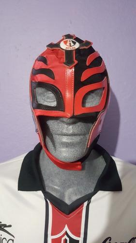 máscara luchador rojinegros del atlas