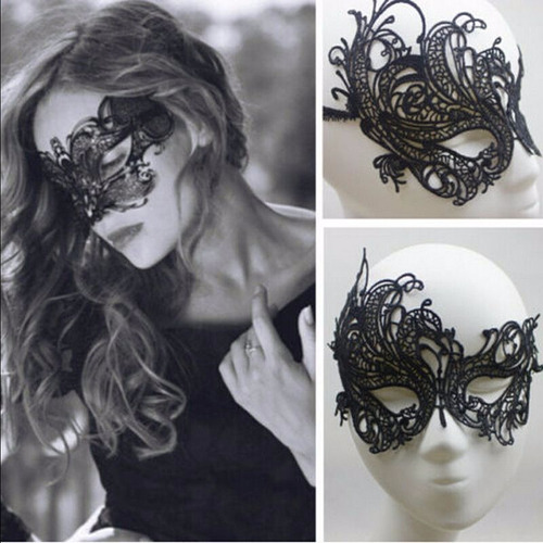 mascara luxo galá 50 tons de cinza festa a fantasia sexy