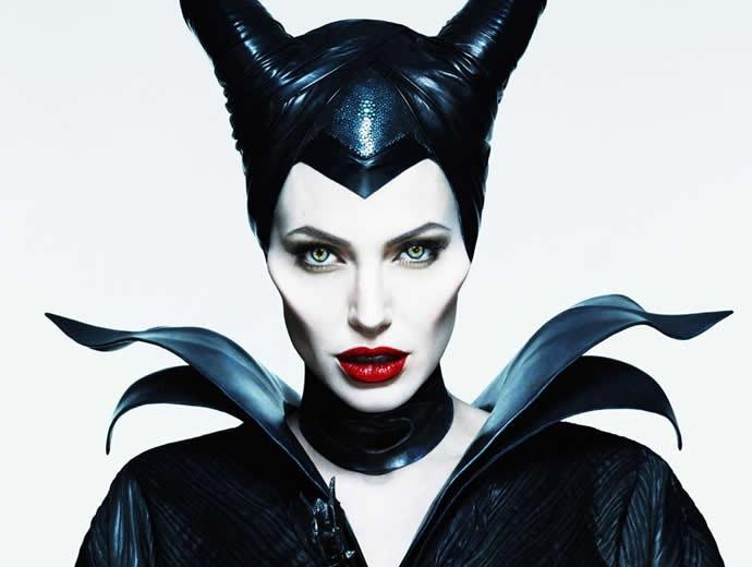 Mascara Malefica Maleficent Bruja Latex Fx Cuernos Halloween