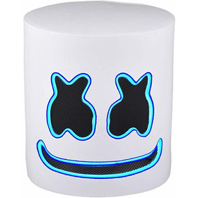 Mascara Marshmallow Helmets Dj Full Head Mask Novedad