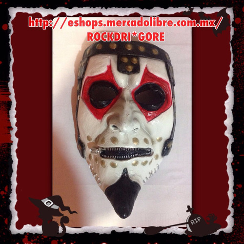 mascara, mascaras james root, slipknot, halloween