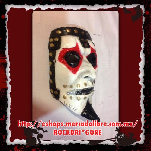 mascara, mascaras, james root, slipknot, halloween, disfraz