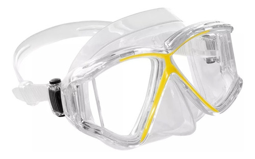 máscara mergulho panoramic 4 cressi - profissional silicone