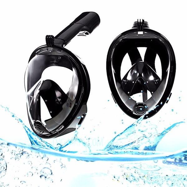 e03b43e3f Mascara Mergulho Snorkel Suporte Camera Anti Embaçamento Pr - R  214 ...