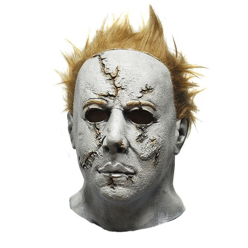máscara michael myers latéx super realista festa terror film