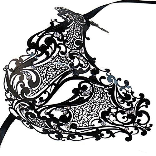 máscara misteriosa de lujo del mascarada de la máscara de l