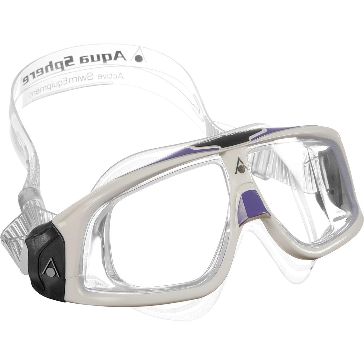4f7c36652 máscara natação seal 2.0 lady lente transparente aqua sphere. Carregando  zoom.