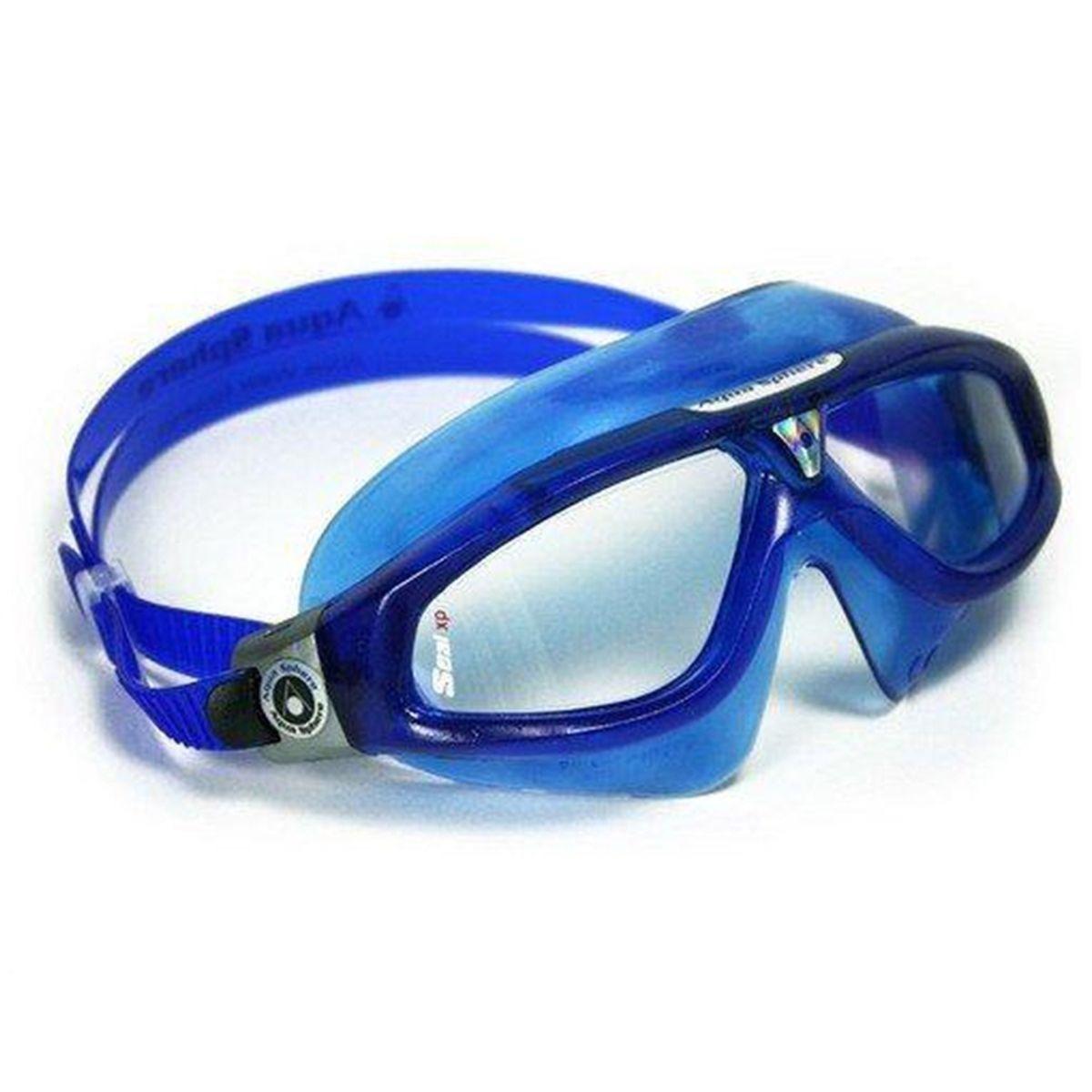 863d86bef máscara natação seal xp lente transparente aqua sphere. Carregando zoom.