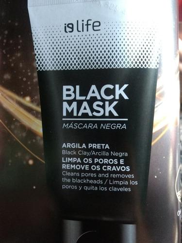 máscara negra promoção