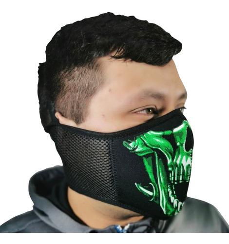 mascara neopreno deportes motos ciclismo biker protección