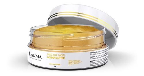 máscara ouro renovadora golden glitter 150g lakma