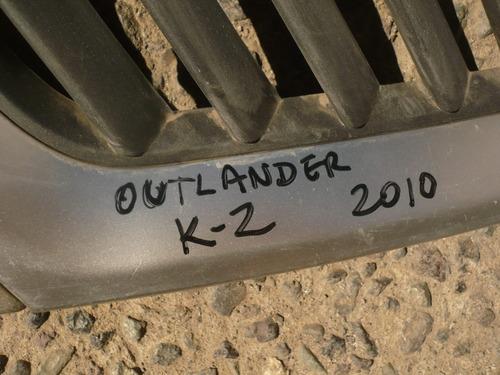 mascara outlander k2 2010  con detalles - lea descripción