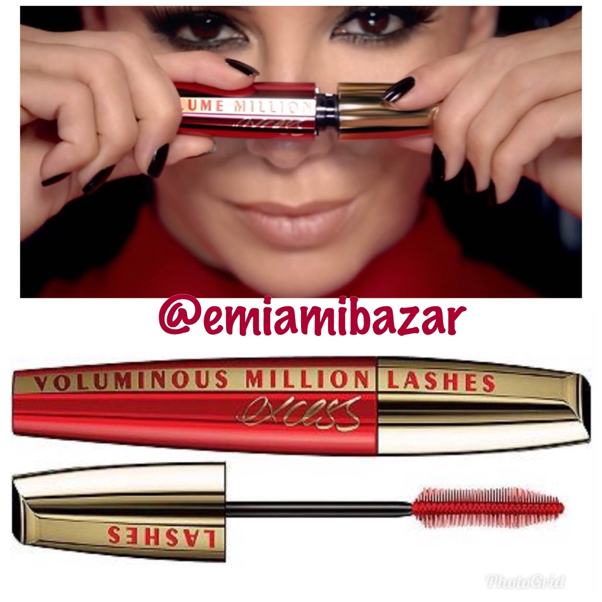 9d3bc92343c Máscara P/ Cílios Loreal Voluminous Million Lashes Excess - R$ 73,00 ...